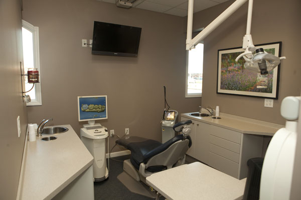 Another one of our modern treatment rooms.